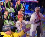 Theatersport NetTeLet samen met brassband Greidebrass