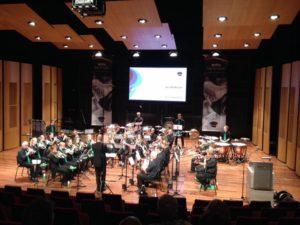 Brassband Greidebrass op het WMC 2017