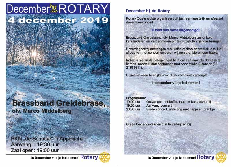 Rotaryclub Oosterwolde flyer